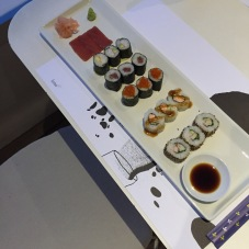 Sushi at Lounge Bar in Hotel Lone