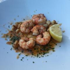 Grilled fish platter at La Puntulina