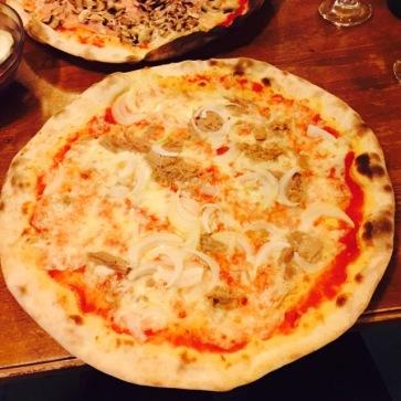 Pizza at Pizzeria da Sergio
