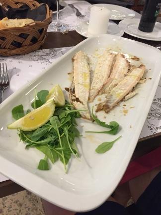 Sole fish at Kantinon
