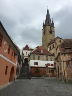 Th old town in Sibiu