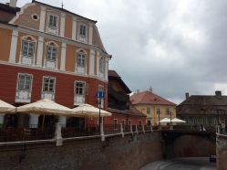 The bridge of lies in Sibiu