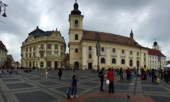 The main square in Sibiu