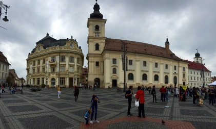 The main square in Sibiu