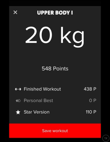 Freeletics Gym: Upper Body 1