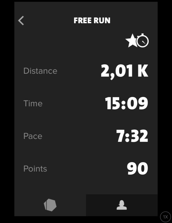 Freeletics Running 2 km run