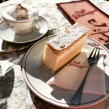 Cremeschnitte at Cafe Schwaiger