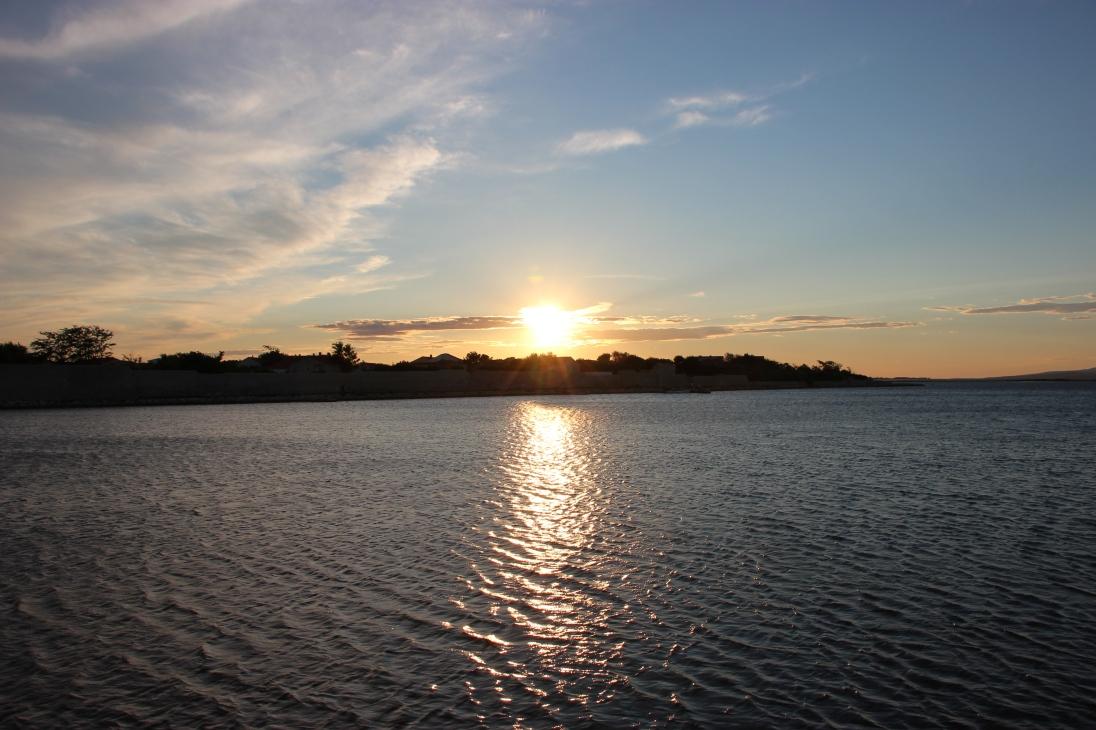 Sunset over Nin