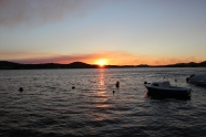 Sunset in Sibenik