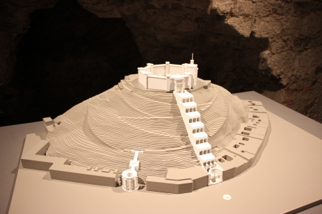 Small model of the castle