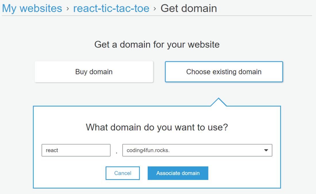 AWS_associate_domain